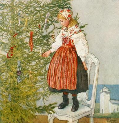 Carl larsson l arbre de noel