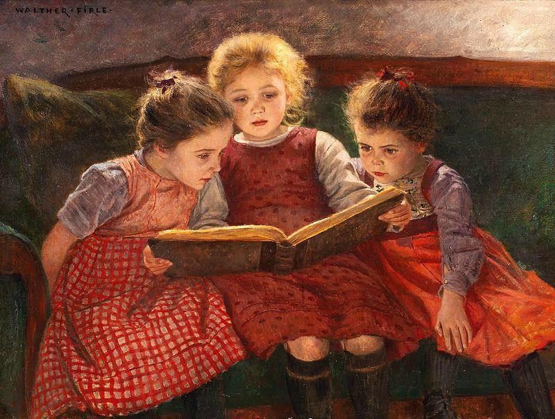 Larson lecture enfant